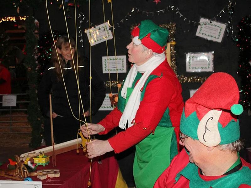 Rural Life Living Museum - Christmas Elves