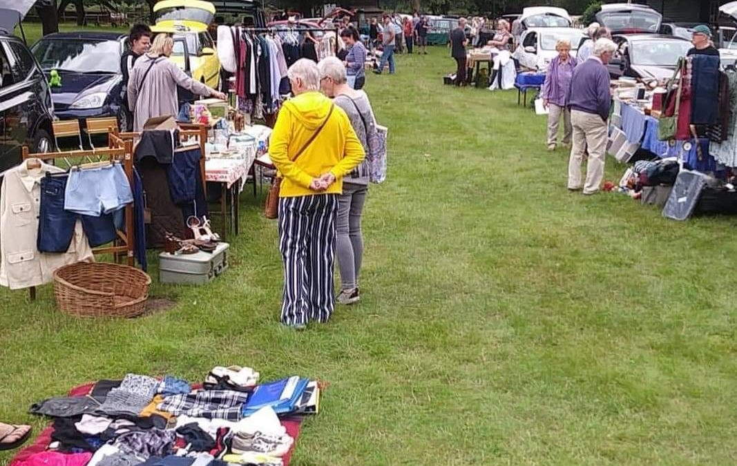 CANCELLED – Car Boot Sale